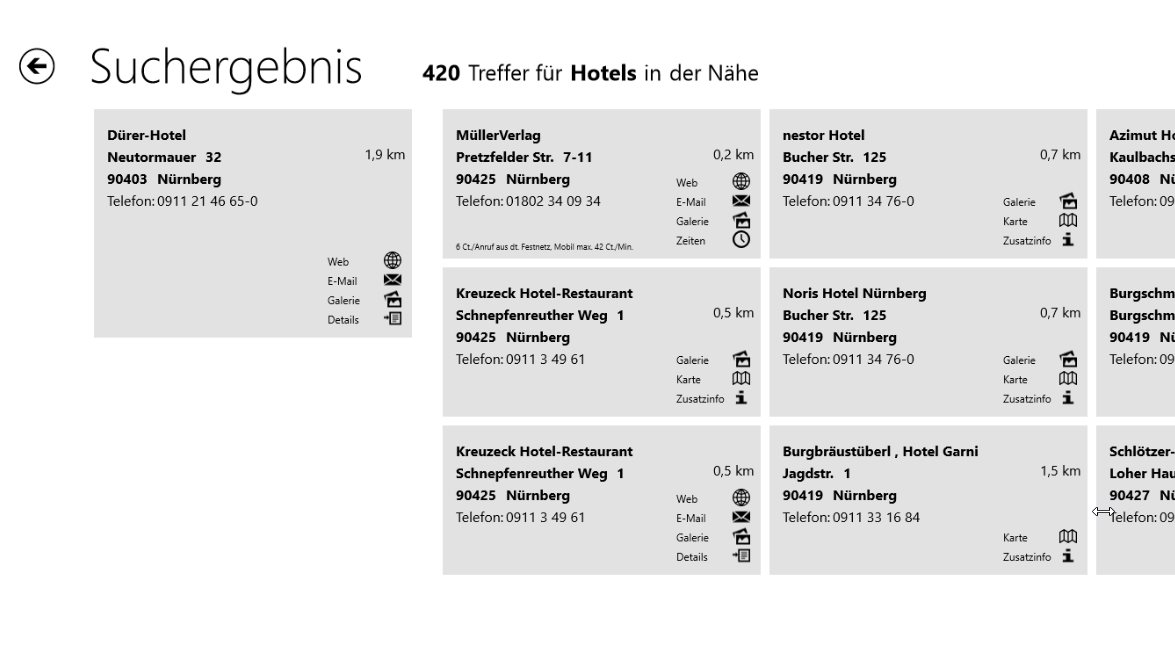 Vorschau Das Telefonbuch - Windows 8 - 10 - Bild 4