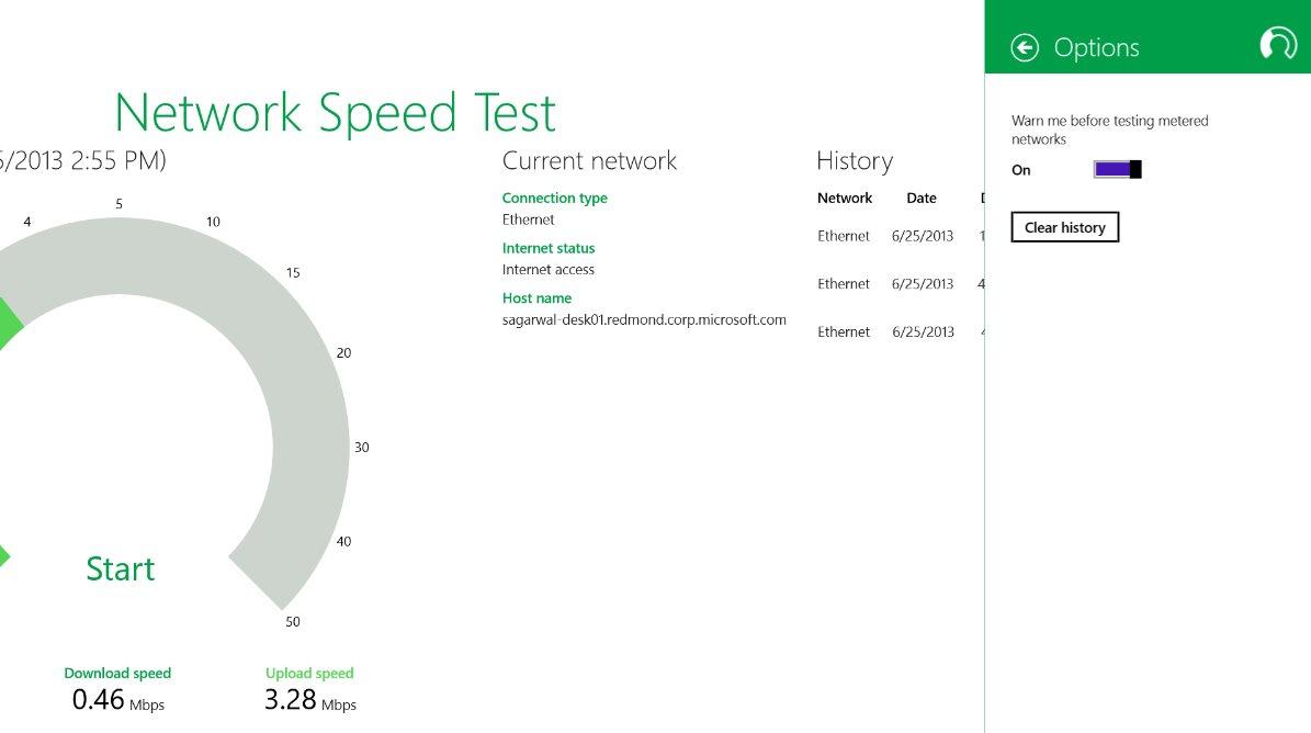 Vorschau Microsoft Network Speed Test fuer Windows 8 und 10 - Bild 4