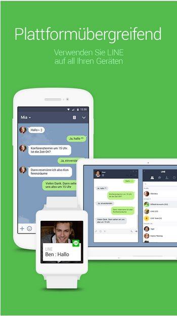 Vorschau Line Messenger für Android - Bild 4