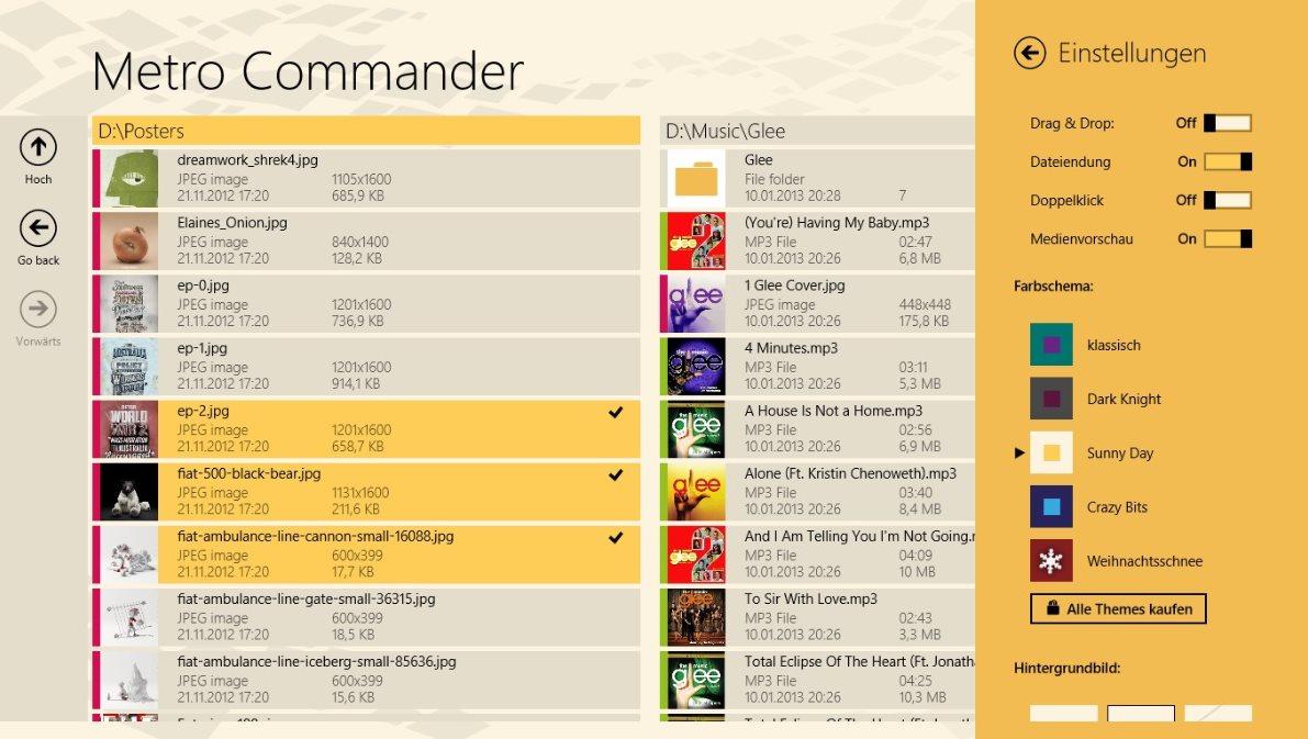 Vorschau Metro Commander fuer Windows 8 und 10 - Bild 4