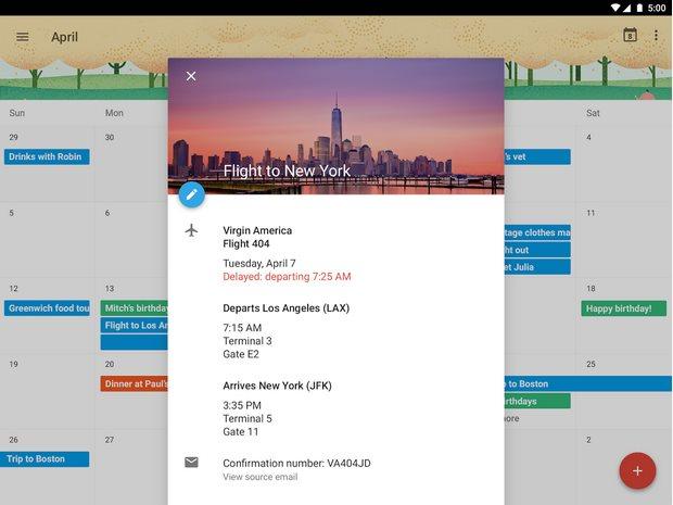 Vorschau Google Kalender fuer Android - Bild 4