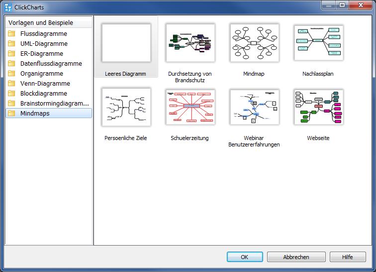 Vorschau ClickCharts Flussdiagramm-Software - Bild 4