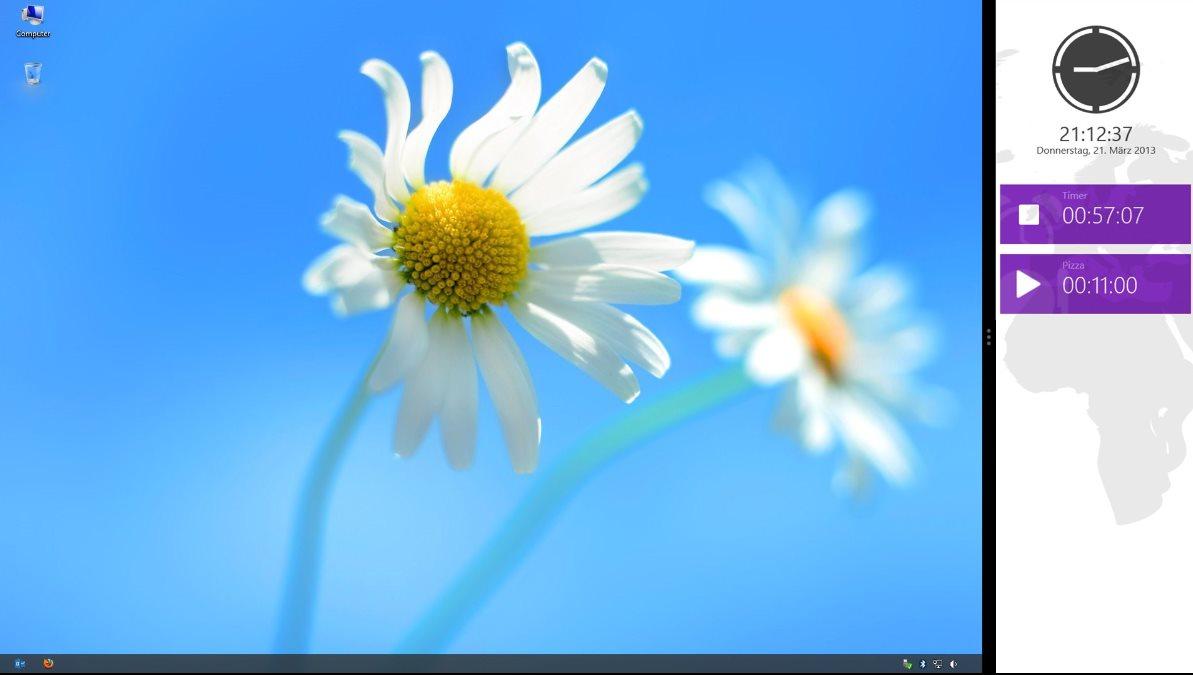 Vorschau Uhr fuer Windows 8 und 10 - Bild 4
