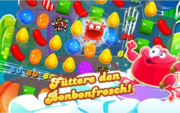 Vorschau Candy Crush Saga für Android - Bild 4