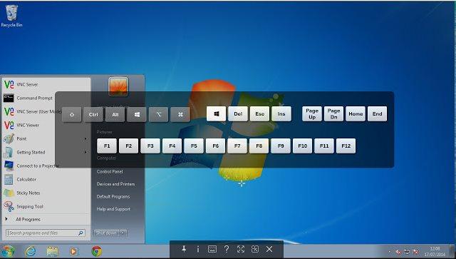 Vorschau VNC Viewer fuer Chrome - Bild 4