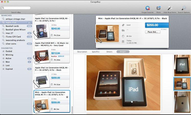 Vorschau GarageBuy für Mac - Bild 4