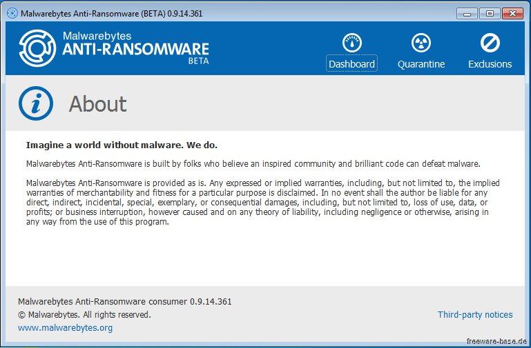Vorschau Malwarebytes Anti-Ransomware - Bild 4