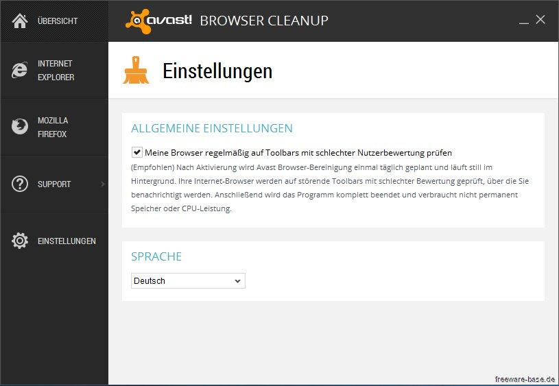 Vorschau Avast Browser Cleanup - Bild 4