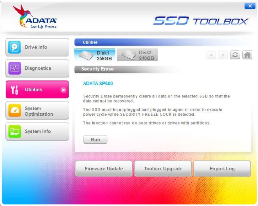 Vorschau Adata SSD ToolBox - Bild 4