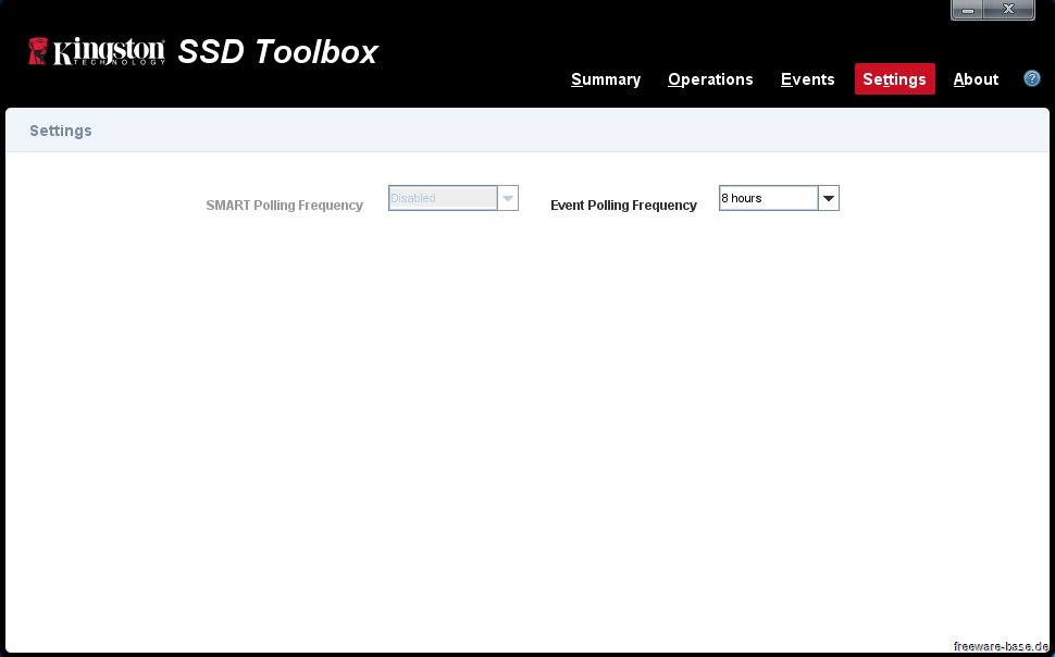 Vorschau Kingston SSD Toolbox - Bild 4