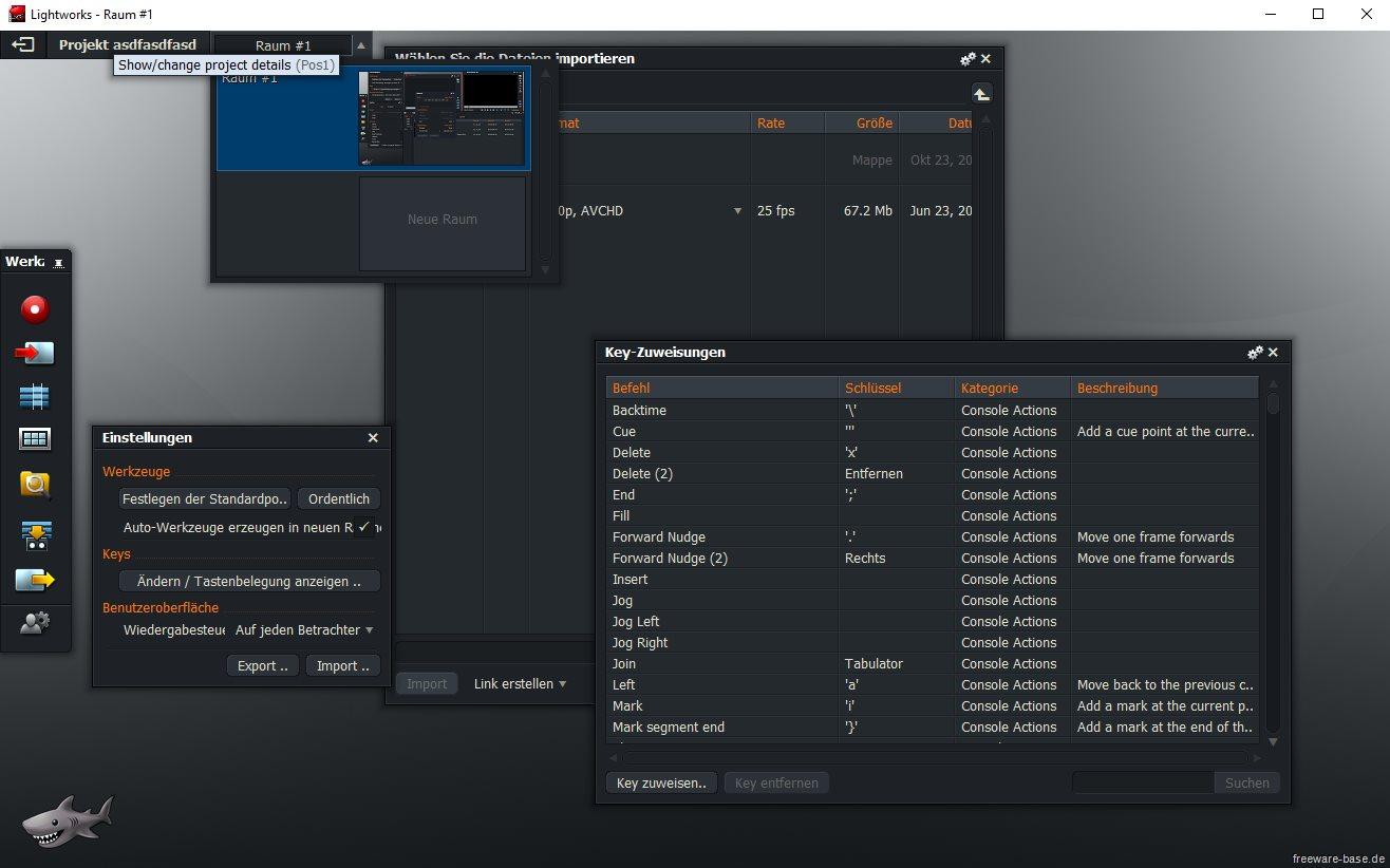 Vorschau Lightworks für Linux - Videobearbeitung - Bild 4