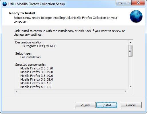 Vorschau UtiluMFC - Utilu Mozilla Firefox Collection - Bild 4