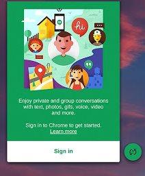 Vorschau Hangouts Chrome Desktop - Bild 4
