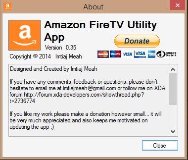 Vorschau Amazon FireTV Utility App - Bild 4