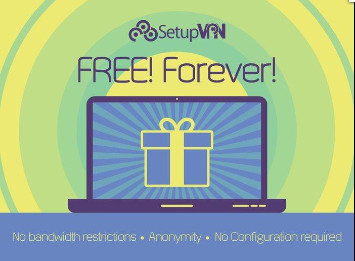 Vorschau SetupVPN Lifetime Free VPN für Firefox - Bild 4