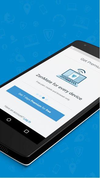Vorschau ZenMate Security und Privacy VPN für Android - Bild 4