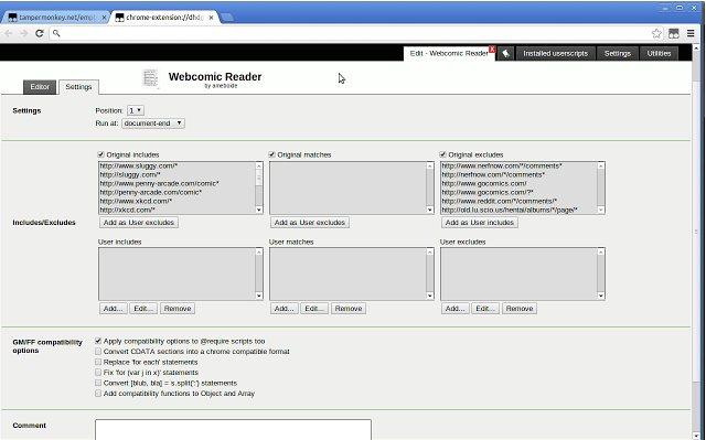 Vorschau Tampermonkey für Chrome - Bild 4