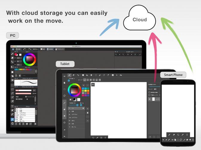 Vorschau MediBang Paint Tablet für Android - Bild 4