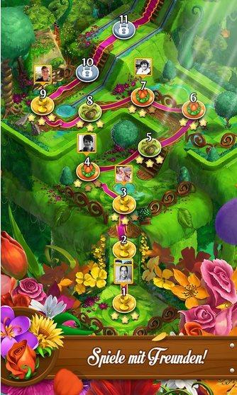 Vorschau Blossom Blast Saga für Android - Bild 4