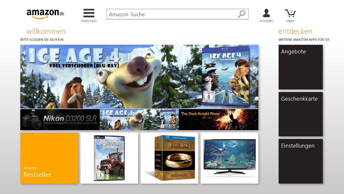 Vorschau Amazon für Windows 8 und 10 - Bild 4