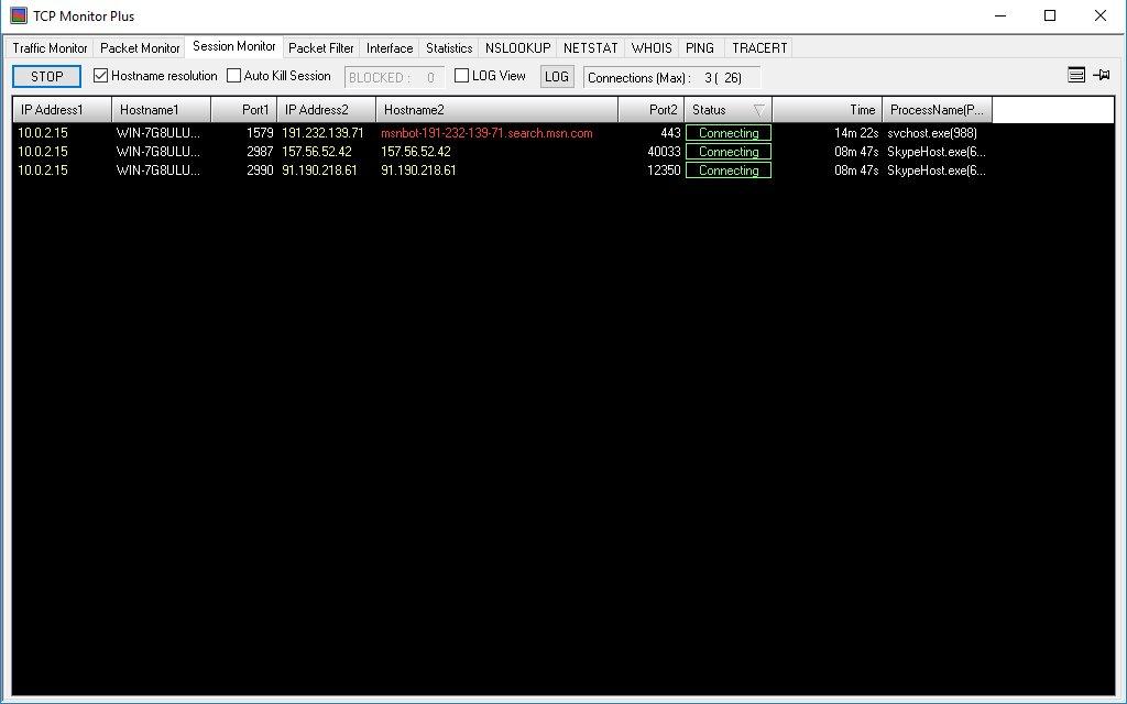Vorschau TCP Monitor Plus - Bild 4