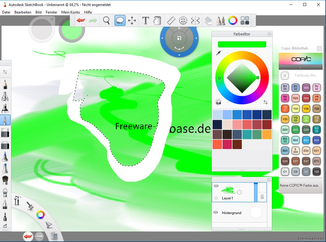 Vorschau Autodesk SketchBook - Bild 4