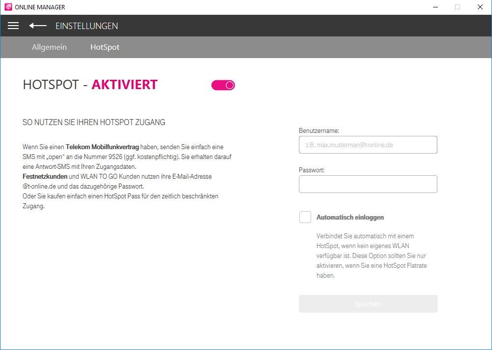 Vorschau Telekom Online Manager - Bild 4