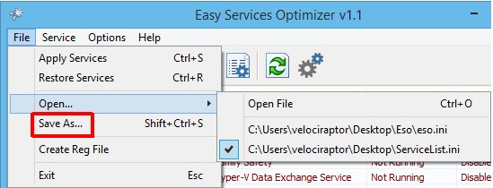 Vorschau Easy Services Optimizer - Bild 4