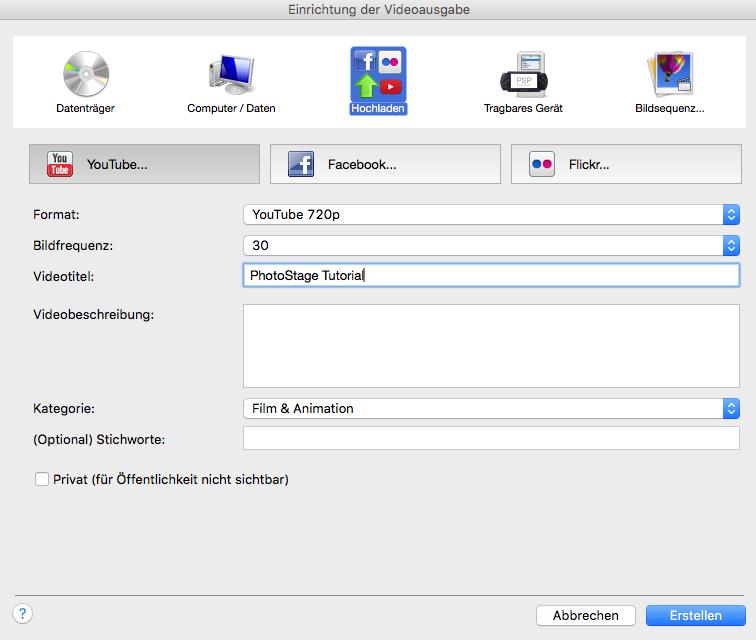 Vorschau PhotoStage Diashow-Programm Mac - Bild 4