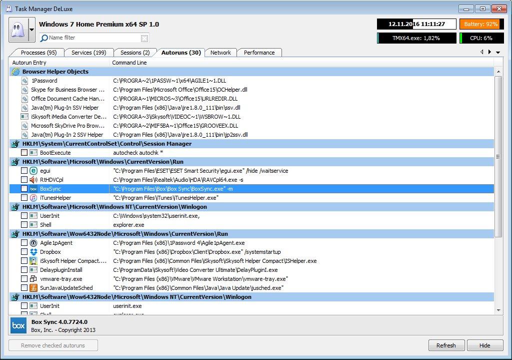 Vorschau Task Manager DeLuxe - Bild 4