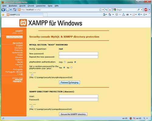 Vorschau XAMPP Windows - Bild 4